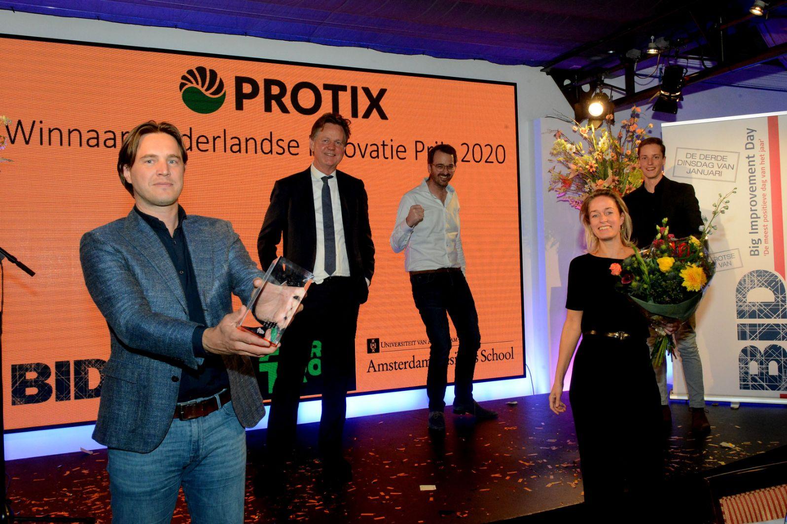 Insectenproducent Protix wint Nederlandse Innovatie Prijs 2020