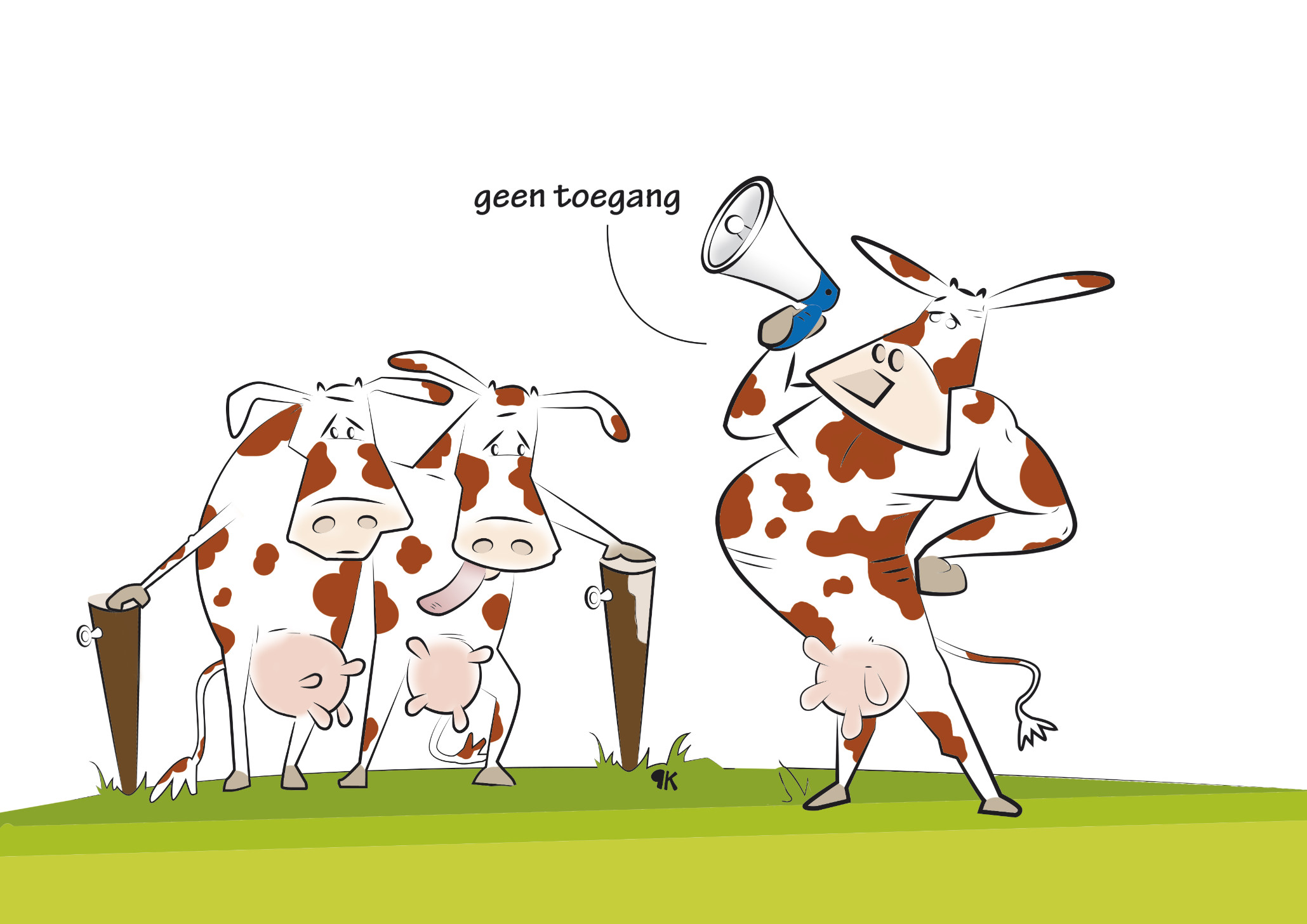 Elke week stoppen er acht varkenshouders in Nederland